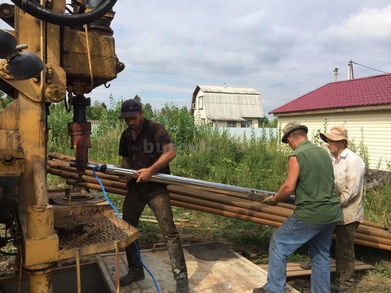 Бурение скважин в Рыбинске Ярославская область